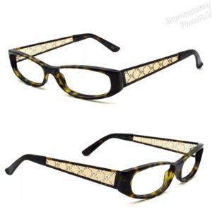 Gucci GG 2975 Ant135 RX Brown Tortoise Eyeglasses